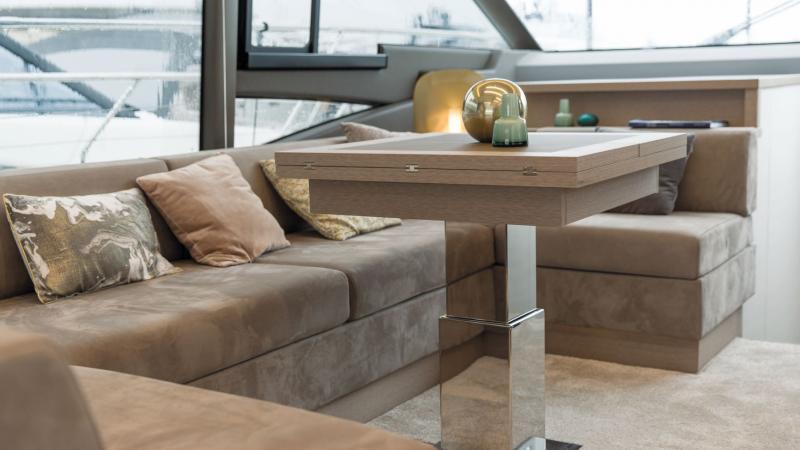 Pied de table 2 étage Inox